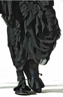 Pantofi oxford dama din piele naturala negri Shadow