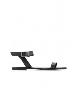 Stripe flat sandals