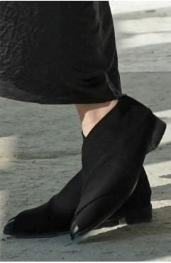Pantofi dama din piele naturala Oxford Muff