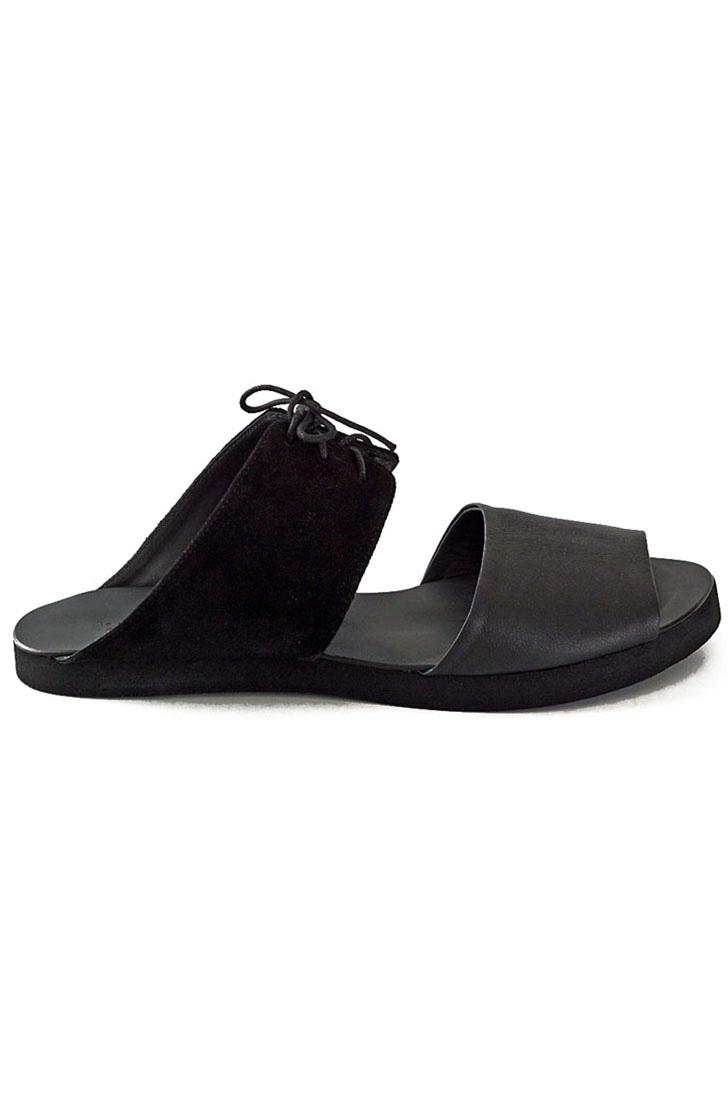 Papuci dama din piele naturala  Tie Me Up