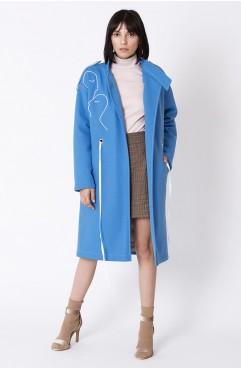 Palton BLUE REFLECTIONS
