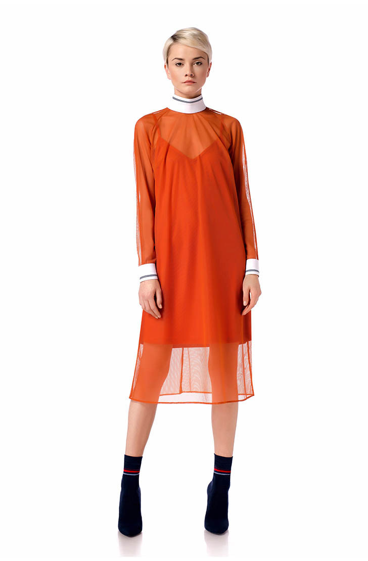 Rochie Orange Mood