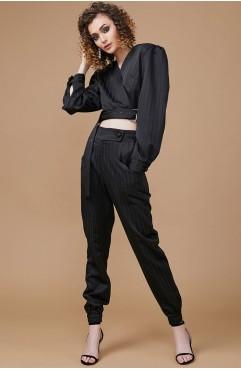 Pantalon negru CAMERON