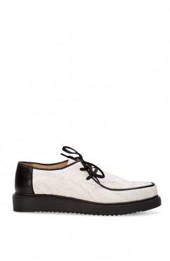 Pantofi dama din piele naturala  Albi Zenon
