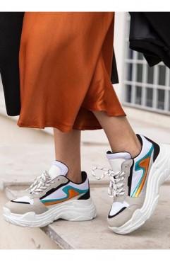 Pantofi sport dama din piele ecologica Dora