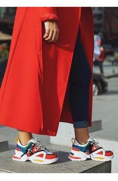 Pantofi sport dama din piele ecologica Kelly