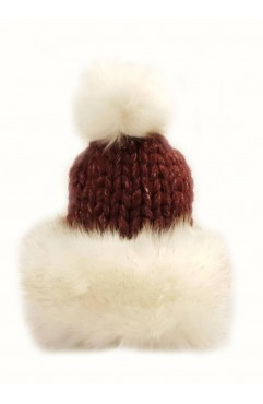 Bordo Lilou Fur Hat