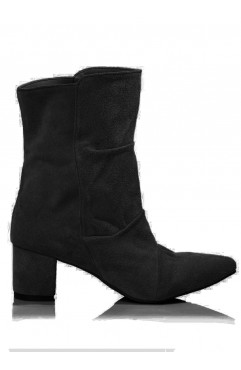 Hannah Black Ankle Boots