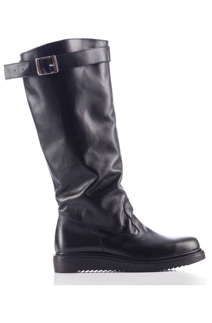 Everly Black Boots