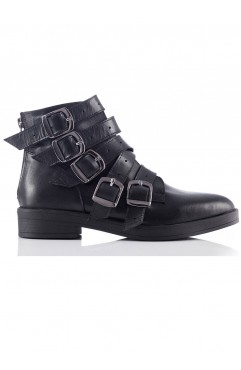 Ariella Black Ankle Boots