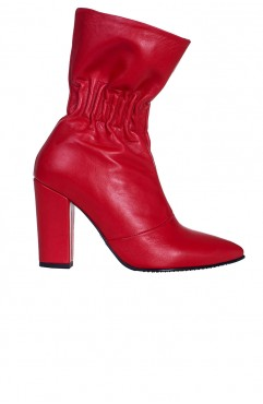 Claudia Red Boots