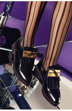 Pantofi Oxford  dama din piele naturala Eloise