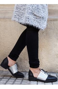 Pantofi Oxford dama din piele naturala Lexy