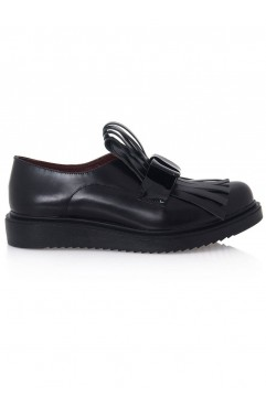 Catherine Oxford Flat Shoes