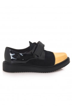 Pantofi dama din piele naturala  Oxford Ava