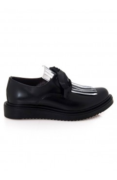 Pantofi Oxford  dama din piele naturala Lea