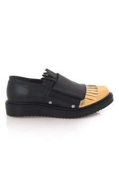 Pantofi Oxford  dama din piele naturala Salma