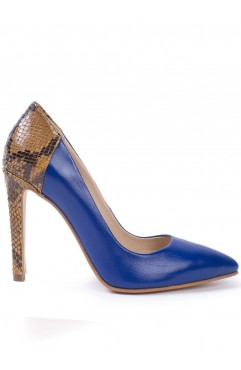 Olympia Blue Pumps