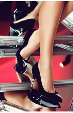 Pantofi dama din piele naturala Annora Negri
