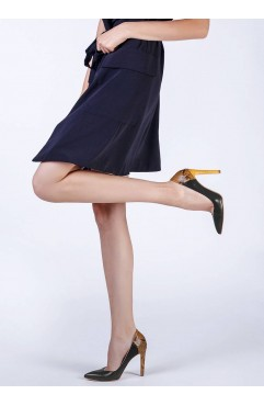Pantofi dama din piele naturala Olympia Negri