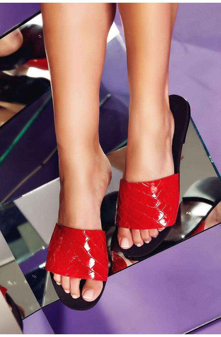 Papuci Andora Rosii