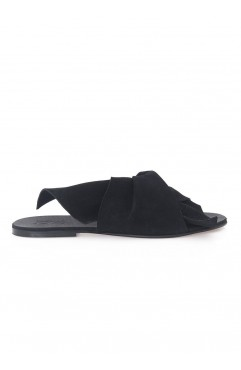 Black Sonia Slippers