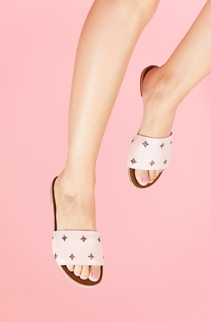 Papuci Paloma Roz