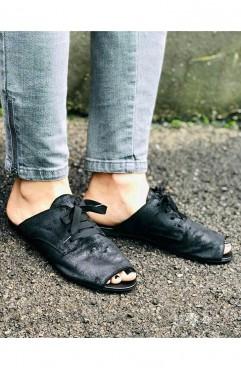 Papuci dama din piele naturala Ranger