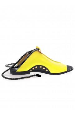 Coconut yellow sandals