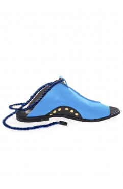 Coconut blue sandals