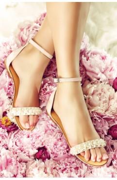 Sandale  dama din piele naturala Gemma Roz