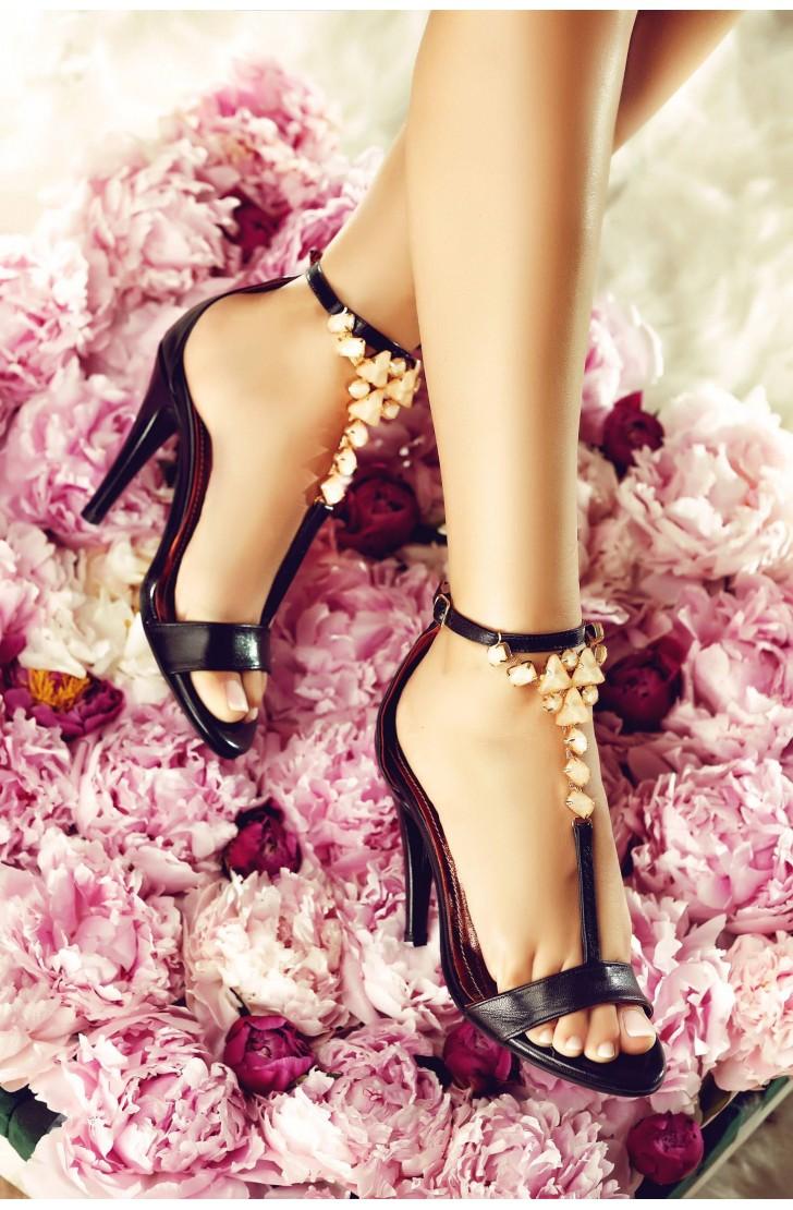 Sandale Darlene - Accesoriu Bej