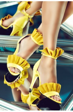 Krissy yellow sandals