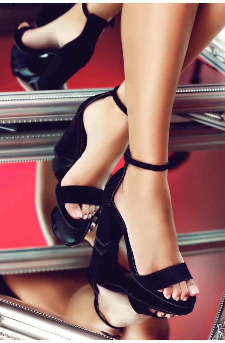Sandale Thea Negre