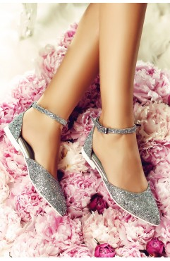 Silver Alexis Sandals