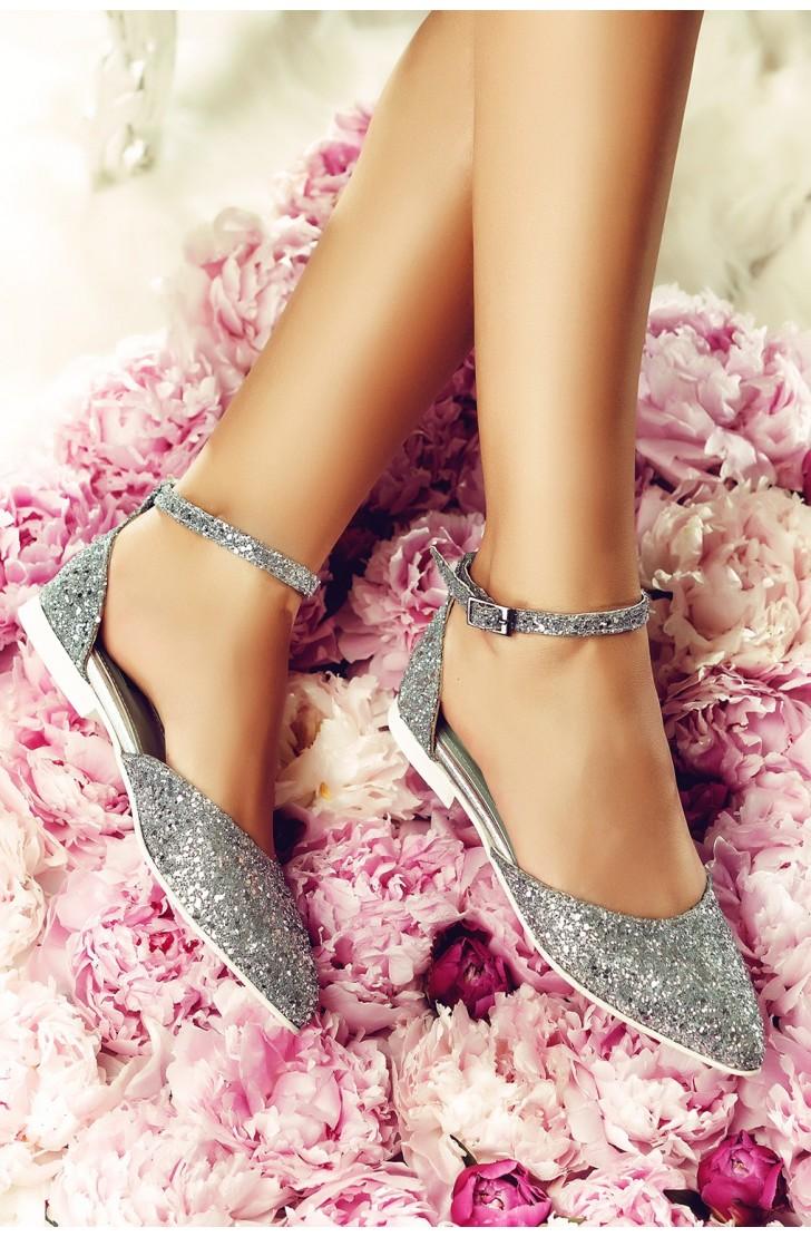 Sandale Alexis Argintii