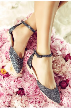 Sandale  dama din piele naturala Alexis Gri