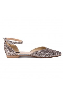Alexis Gold Sandals