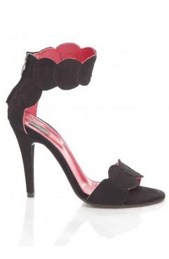 Black Aubrielle Sandals