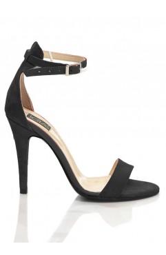 Sandale  dama din piele naturala Adeline Negre