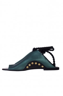 Coconut Imperial Green Sandals