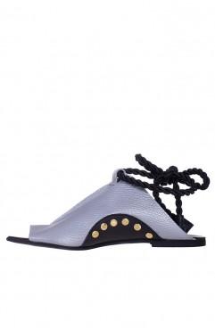 Sandale  dama din piele naturala Coconut Silver