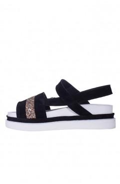 Odessa high flat sandals