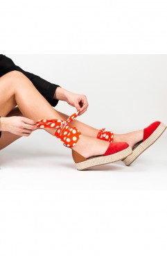 Sandale Rosii Oreo