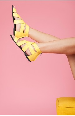 Bella Yellow Sandals