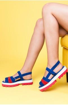 Sandale dama din piele naturala Erika