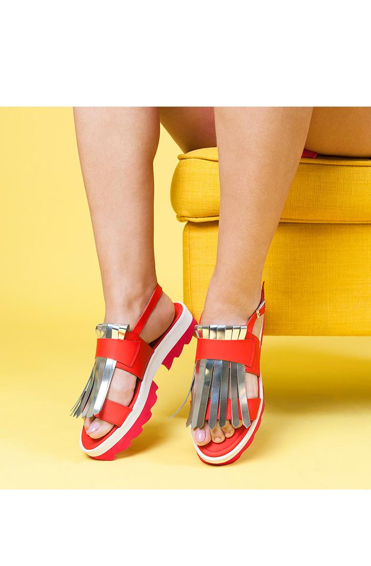 Sandale dama din piele naturala Helen