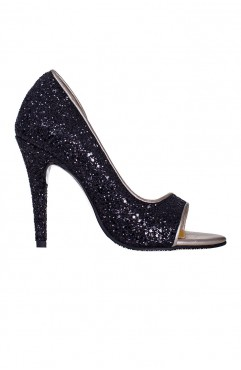 Cinderella Black Sandals