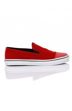 Leona Red Sneakers