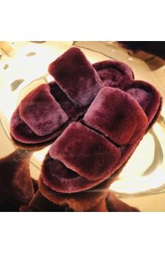 Papuci de casa dama Alfie Marsala